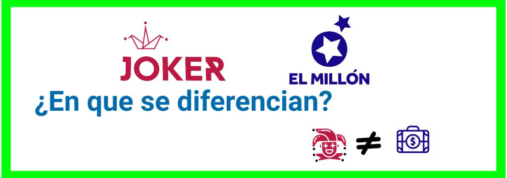 Comparativa el joker y el millon